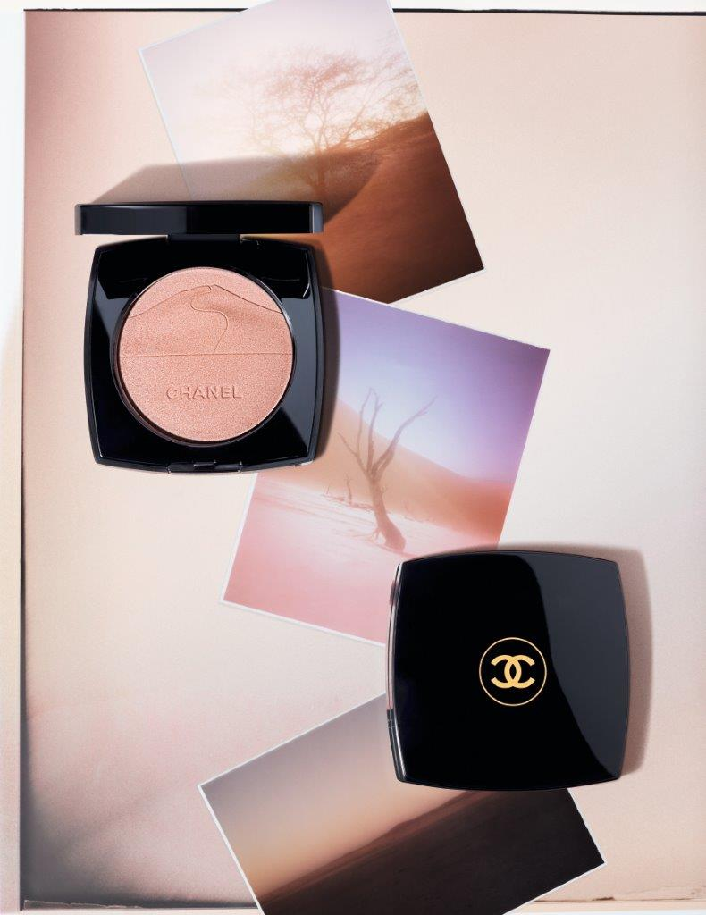 chanel maquillage collection printemps 2020 desert makeup poudre