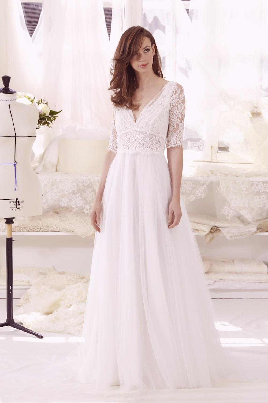 Adèle robe de mariée de l'Atelier Émélia