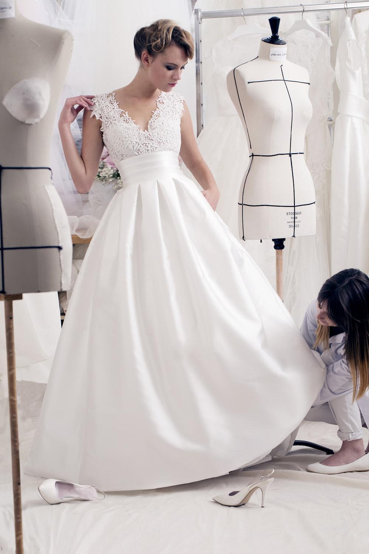 La robe de mariée Anouk de l'atelier Émélia