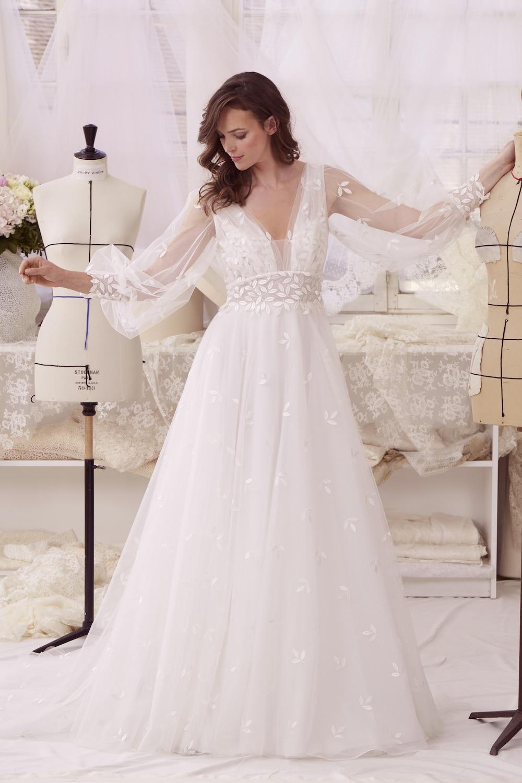 robe de mariée sur mesure atelier émélia créateur robe sophie