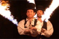 supercho spectacle de pyrotechnique pour votre mariage