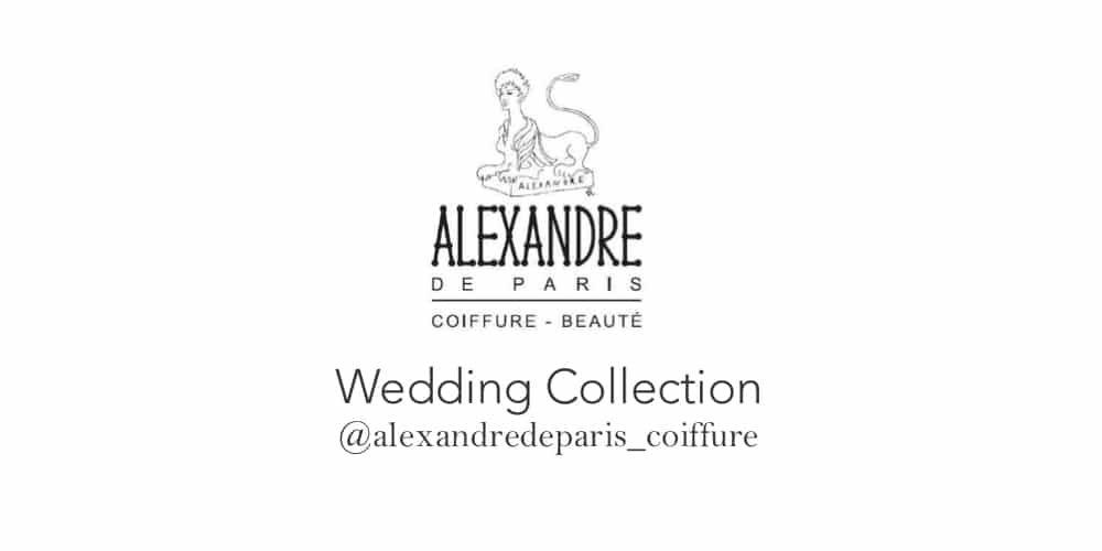 salon de coiffure alexandre de paris collection mariage